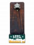 Abridor De Garrafa em Formato de Jeep - Beer Quality em Madeira Maciça