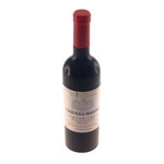 Abridor de Vinho Bottle-Shaped Preto - 17x4 cm