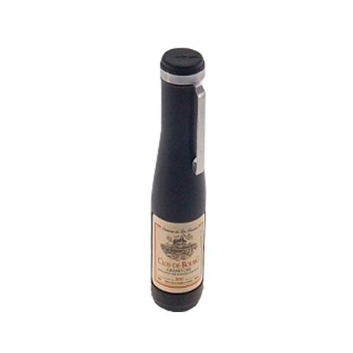 Abridor de Vinho/Cerveja Mini Bottle Preto - 12x1 cm