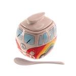 Açucareiro Kombi em Cerâmica