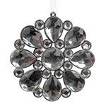 Adorno Decorativo Flor em Cristal