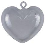 Adorno Decorativo Heart Glass em Vidro