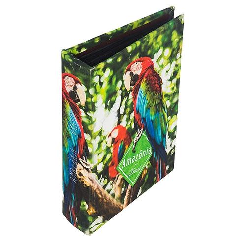 Álbum de Fotos Arara Amazônia - 200 Fotos -  Fullway - 24x19 cm
