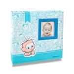 Álbum do Bebê Cebolinha - 200 Fotos 10x15 cm - em Tecido