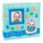 Álbum do Bebê Soninho do Cebolinha com Caixa 100 Fotos 15x21