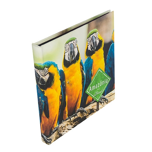 Álbum de Fotos - 48 Páginas - Araras Amazônia Fullway - 34x34 cm