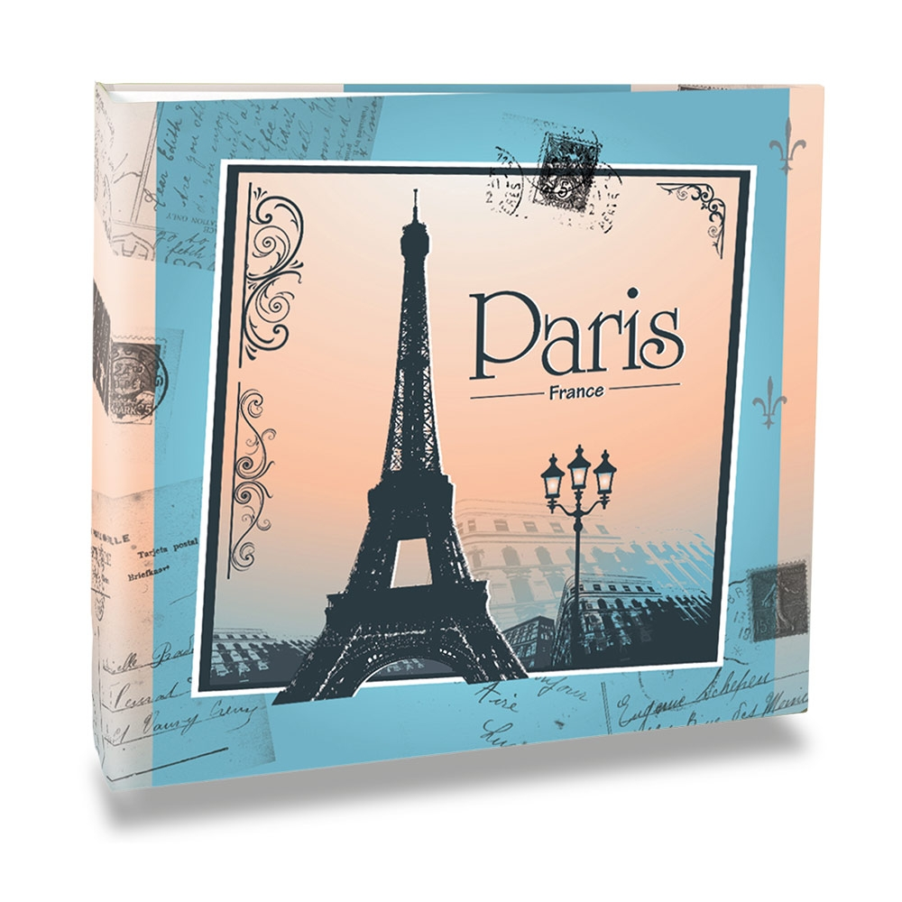 Álbum de Fotos - 100 Fotos 15x21 cm - Paris France - 25,2x23 cm