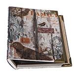 Álbum Bird Family Oldway - 200 Fotos 10x15 cm - Capa em Seda