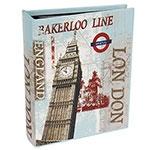 Álbum London Big Ben Oldway - 200 Fotos 10x15 - Capa em Seda