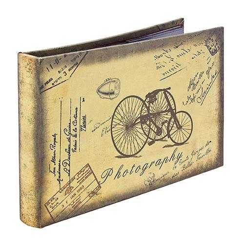 Álbum de Fotos Triciclo Retrô Oldway - 192 fotos 10x15 cm - 25x24 cm