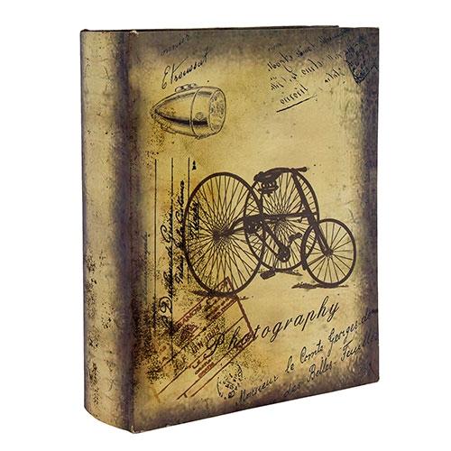 Álbum de Fotos Triciclo Retrô Oldway - 200 Fotos 10x15 cm - 24x20 cm