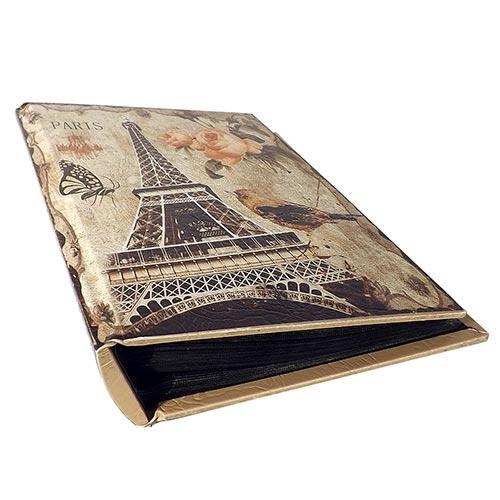 Álbum de Fotos Flowers Eiffel Tower Oldway - 100 Fotos 13x18 cm - 33x23 cm
