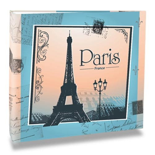 Álbum de Fotos - 200 Fotos 10x15 cm - Paris France - 25,2x23 cm