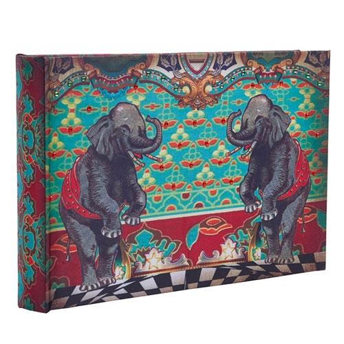 Álbum de Fotos Abracadabra Elefante em Madeira - 35x24 cm