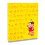 Álbum de Fotos Amarelo - 240 Fotos 10x15 cm - Mônica