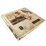 Álbum Autocolante - 30 Páginas - Bird Paris Oldway Bege
