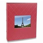 Álbum de Fotos Black - 200 Fotos 10x15 cm - Rosa - 25x21 cm