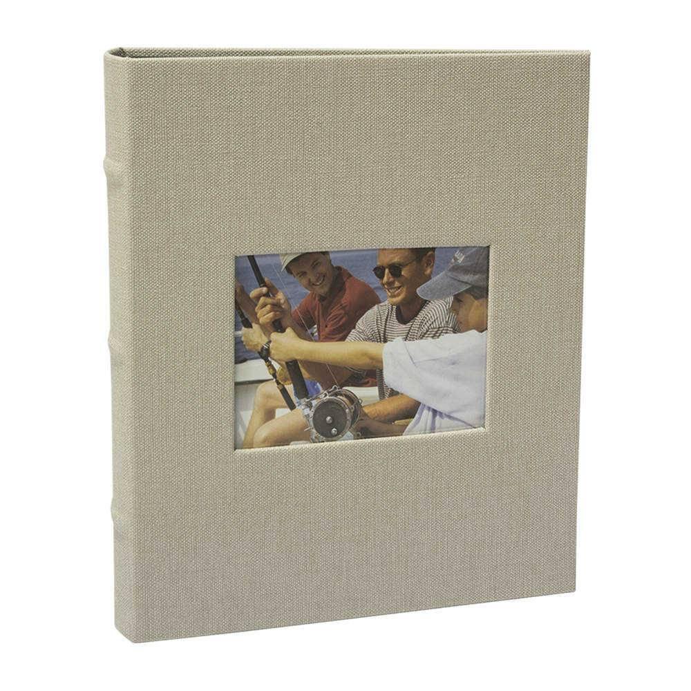 Álbum de Fotos Black Off-White - 200 Fotos 13x18 cm - com Capa Vinílica - 31x24 cm