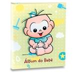 Álbum do Bebê Cebolinha Fundo Verde - 120 Fotos 10x15 cm
