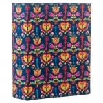 Álbum de Fotos Chave Realeza - Colorido em Eucatex - 18x13 cm