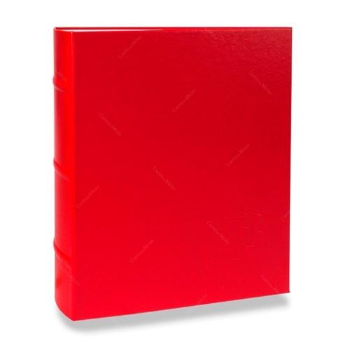 Álbum de Fotos Cores - 150 Fotos 15x21 cm - Vermelho - 24,8x22 cm
