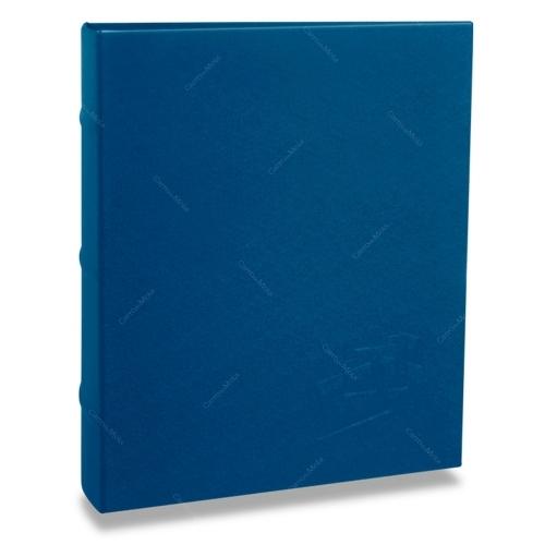 Álbum de Fotos Cores - 200 Fotos 10x15 cm - Azul - 24,8x21,6 cm
