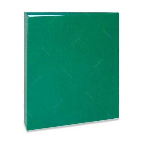 Álbum de Fotos Cores - 240 Fotos 10x15 cm - Verde - 24,2x18,1 cm