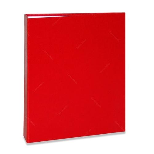 Álbum de Fotos Cores - 240 Fotos 10x15 cm - Vermelho - 24,2x18,1 cm