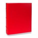 Álbum de Fotos Cores - 300 Fotos 13x18 cm - Vermelho - 31x26 cm