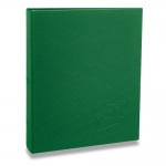 Álbum de Fotos Cores - 40 Fotos 20x25 cm - Verde - 22,6x17,2 cm