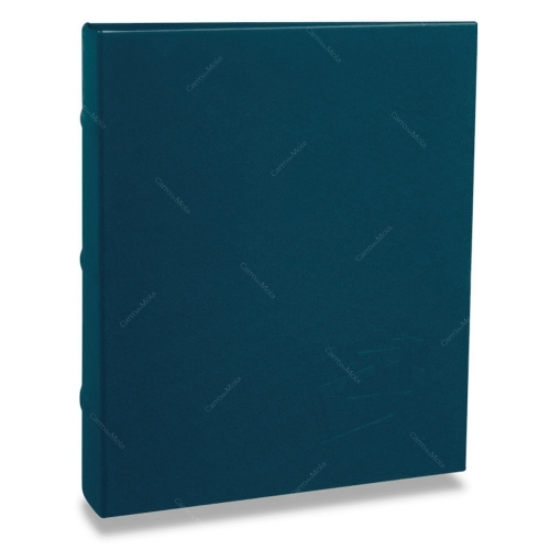 Álbum de Fotos Cores - 400 Fotos 10x15 cm - Azul - 24,8x24,7 cm