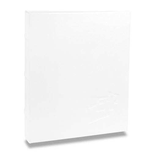 Álbum de Fotos Cores - 400 Fotos 10x15 cm - Branco - 24,8x24,7 cm