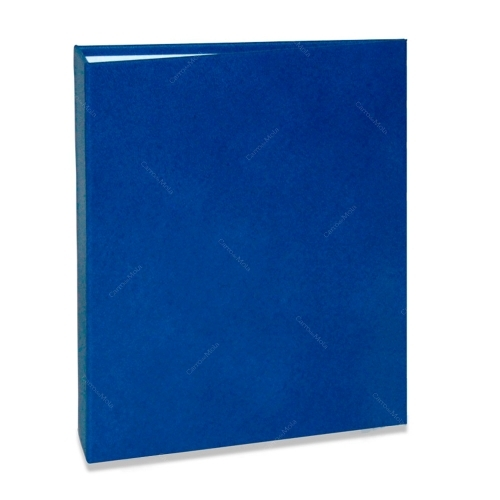 Álbum de Fotos Cores - 80 Fotos 13x18 cm - Azul - 19,2x15,5 cm