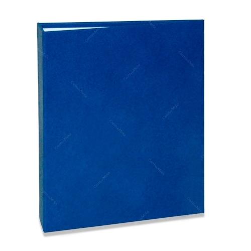 Álbum de Fotos Cores - 80 Fotos 15x21 cm - Azul - 22,6x17,2 cm