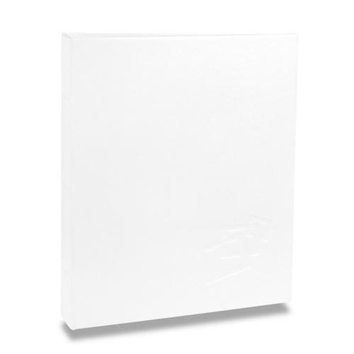 Álbum de Fotos Cores - 80 Fotos 15x21 cm - Branco - 22,6x17,2 cm