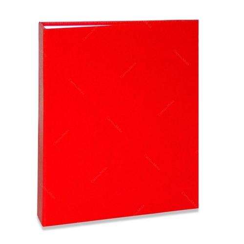 Álbum de Fotos Cores - 80 Fotos 15x21 cm - Vermelho - 22,6x17,2 cm