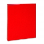 Álbum de Fotos Cores - 80 Fotos 15x21 cm - Vermelho
