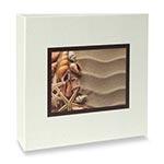 Álbum de Fotos Elementos 100 Fotos 15x21 cm Conchas e Areia