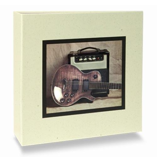 Álbum de Fotos Elementos - 100 Fotos 15x21 cm - Música - 24,5x23 cm
