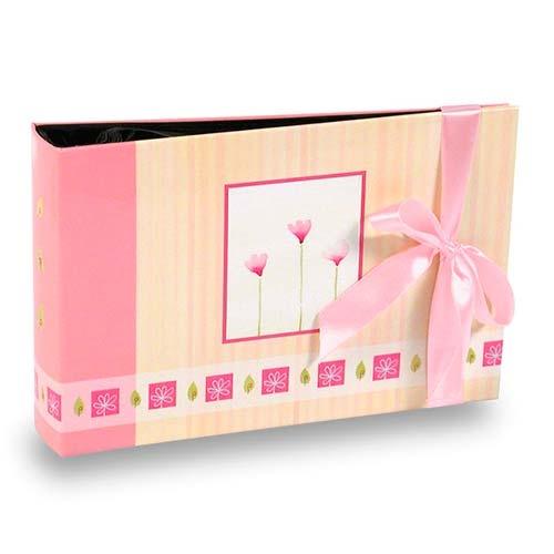 Álbum de Fotos Gift Pink - 60 Fotos 10x15 cm - com Solda - 18,3x12 cm