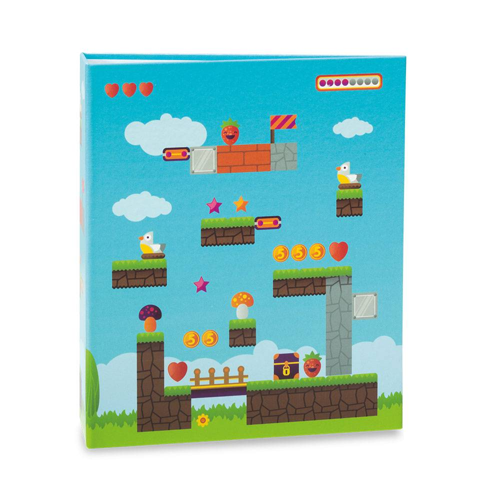Álbum de Fotos Infantil Game - 80 Fotos 15x21 cm - 22,6x17,2 cm