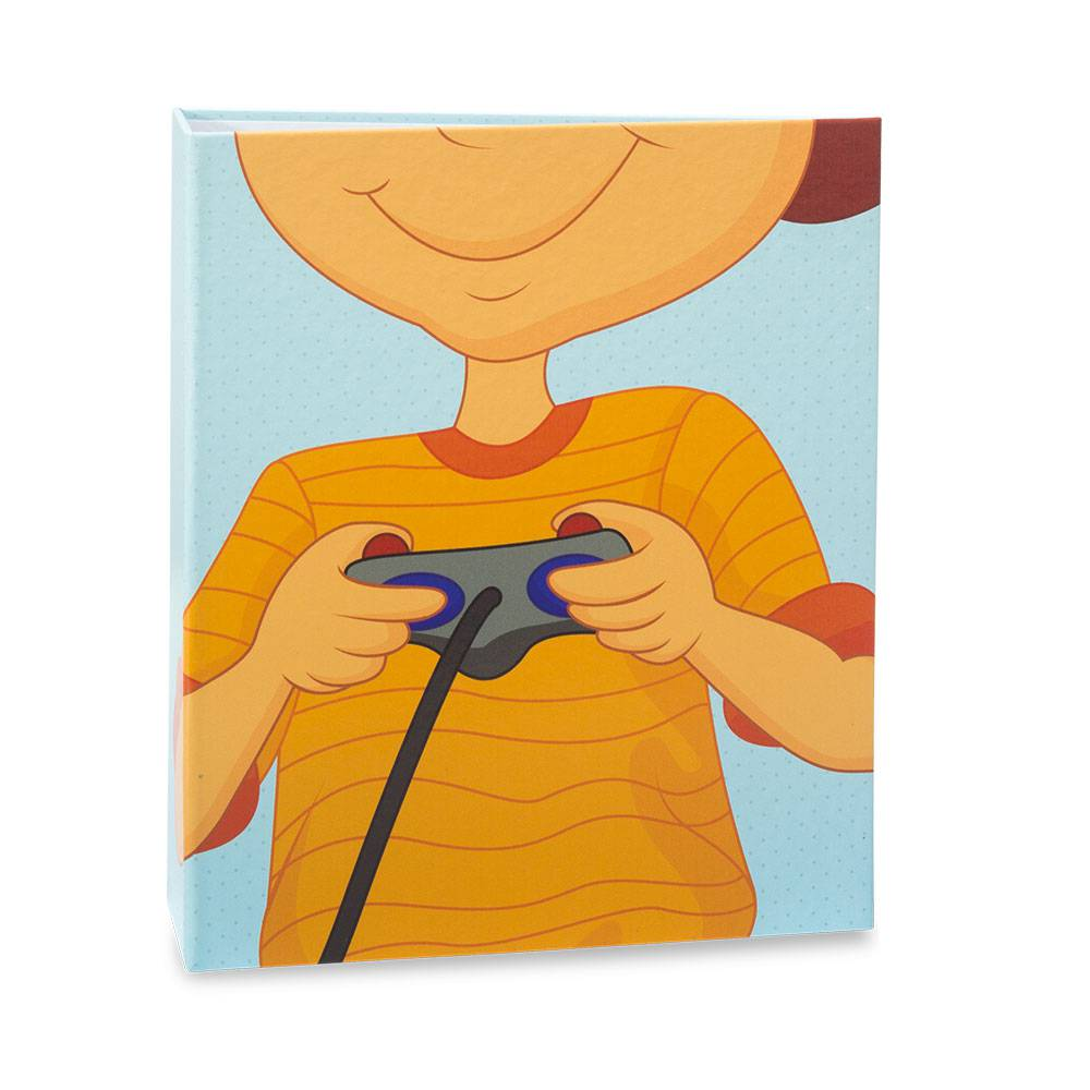 Álbum de Fotos Infantil Game Lover - 40 Fotos 13x18 cm - 19,2x15,5 cm