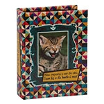 Álbum de Fotos Kitten Céu 90 Fotos 10x15 cm em Madeira
