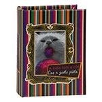 Álbum de Fotos Kitten Cor em Madeira - 18x14 cm
