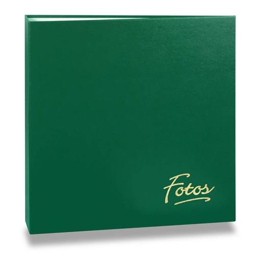 Álbum de Fotos Mega - 500 Fotos 10x15 cm - Verde - 35x33,5 cm