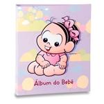 Álbum do Bebê Mônica Fundo Lilás - 120 Fotos 10x15 cm