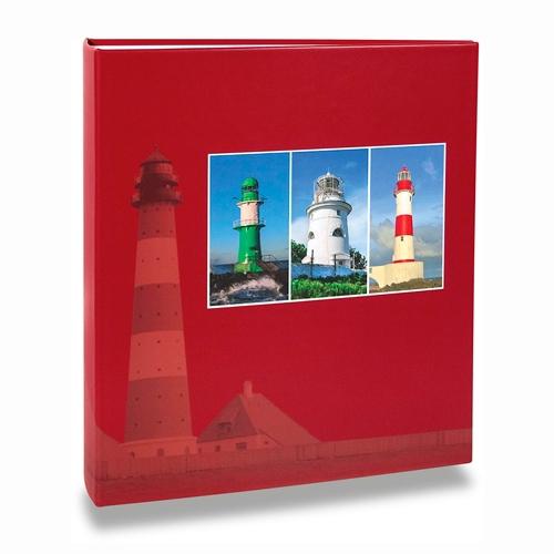 Álbum de Fotos Paisagem - 200 Fotos 10x15 cm - Faróis - 24,8x21,6 cm