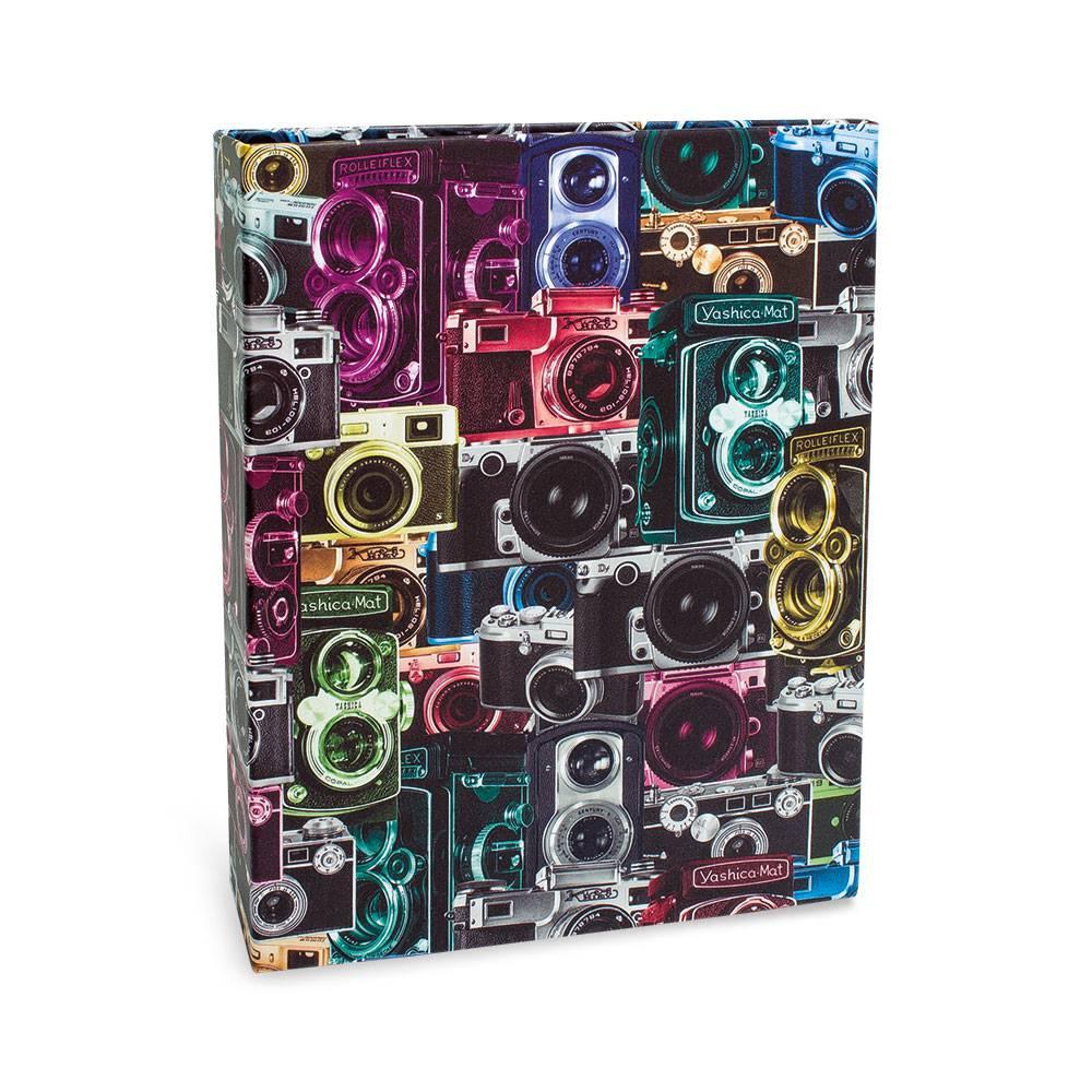 Álbum de Fotos Photo Lovers Câmeras Fotograficas - 160 Fotos 10x15 cm - Multicolorido - 23.2x18.4 cm
