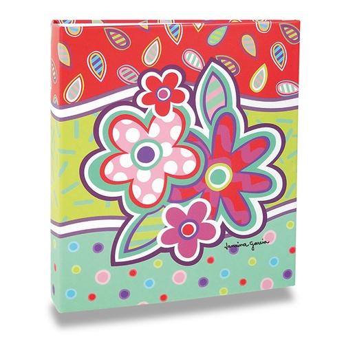 Álbum de Fotos Pop - 150 Fotos 15x21 cm - Flores - 25x22 cm