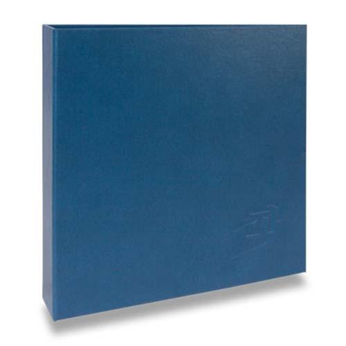 Álbum de Fotos Scrap Azul - 15 Folhas - Livre Colagem - 23x23 cm
